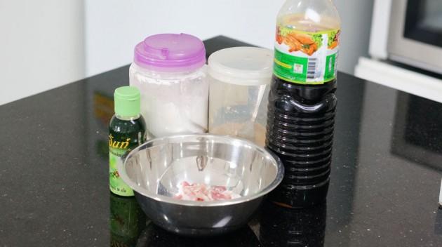 chiangrai fried pork recipe (2)