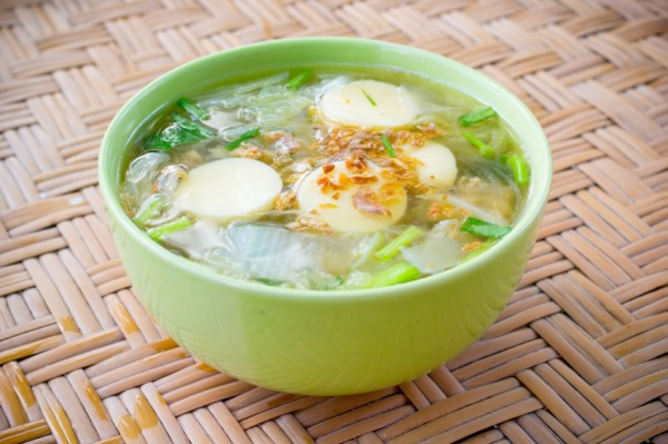 Thai famous pain soup